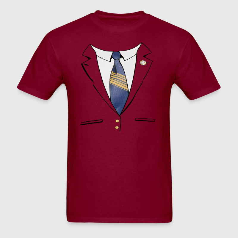 Ron Burgundy Suit - Men's T-Shirt