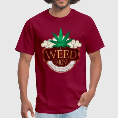 Weed Smoke - Men's T-Shirt