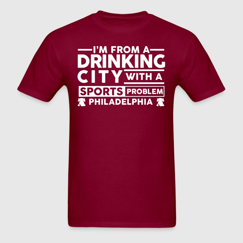 Drinking City Philly - Men's T-Shirt