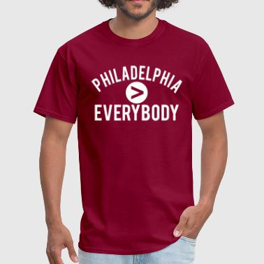 Vs Everybody Philadelphia  Everybody - Men's T-Shirt