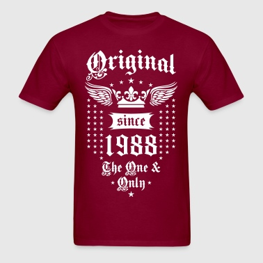 Original Since 1988 The One and Only Crown Wings - Men's T-Shirt