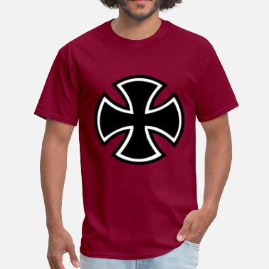 Biker Iron Cross Iron Cross - Men's T-Shirt