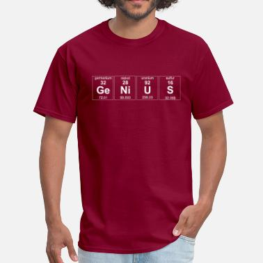 Geek Genius Element - Men's T-Shirt