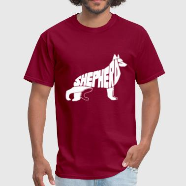 German Shepherd Art German Shepherd Art - Men's T-Shirt