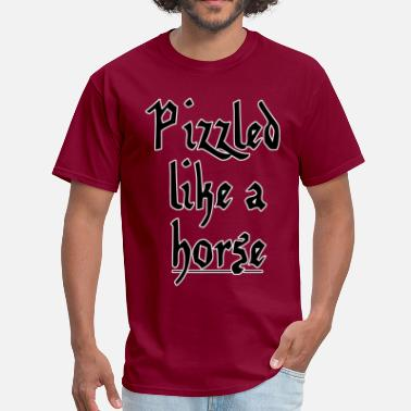 Heraldry Horse VariantVentures - Pizzled like a horse - Men's T-Shirt