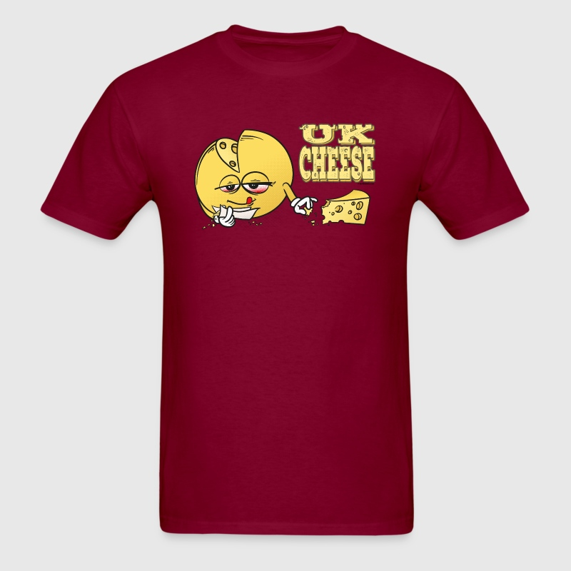UK_Cheese - Cannabis Strain - Men's T-Shirt