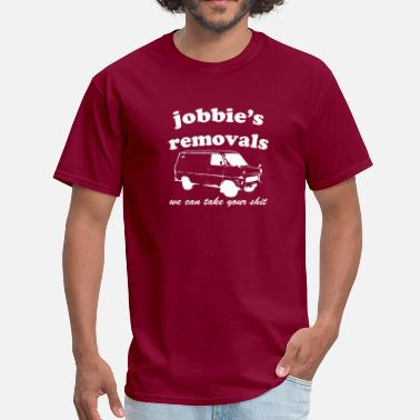 Jobby Jobbie removals [white edition] - Men's T-Shirt
