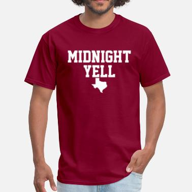 Yell Midnight Yell - Men's T-Shirt