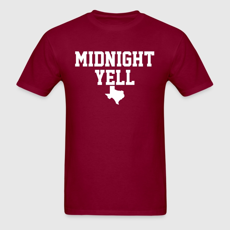 Midnight Yell - Men's T-Shirt