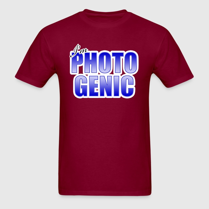 I'm Photogenic - Men's T-Shirt