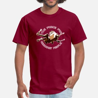 X-wing Fighter X-wing fighter ordinary people brown - Men's T-Shirt