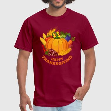 Happy Thanksgiving Day Turkey 54 - Men's T-Shirt