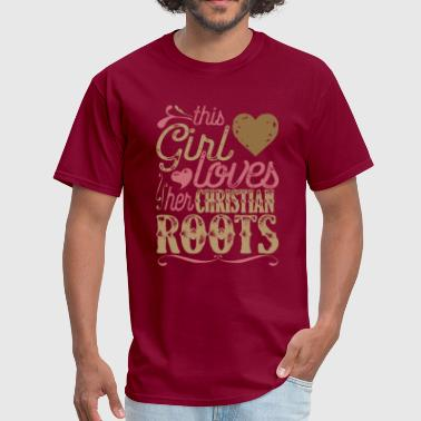 Roots - Christian Roots Patriot Shirt Christianity - Men's T-Shirt