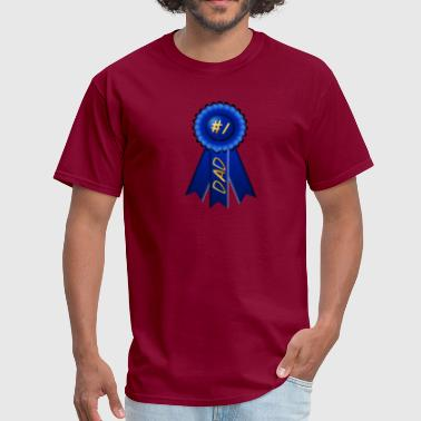 Blue Ribbon Dad - Men's T-Shirt