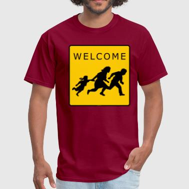 Immigrants Welcome Welcome Immigrants! - Men's T-Shirt