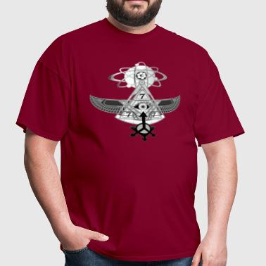 PYRAMID FLYING MACHINE 2 - Men's T-Shirt