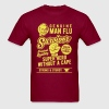 Man Flu Survivor Shirts 2018 - Men's T-Shirt