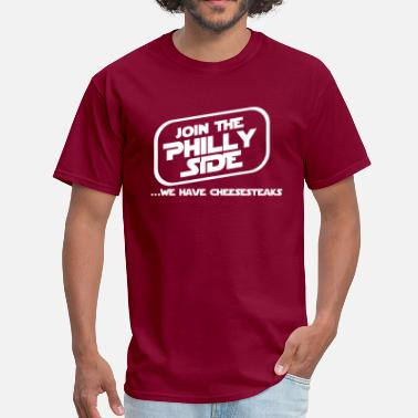 Philly Vs Everybody Philly Side - Men's T-Shirt
