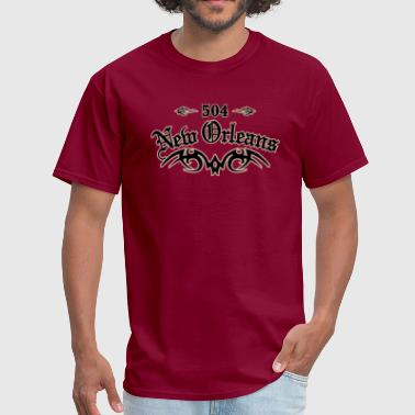New Orleans 504 - Men's T-Shirt