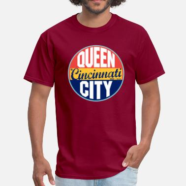 Cincinnati Cincinnati Vintage Label - Men's T-Shirt
