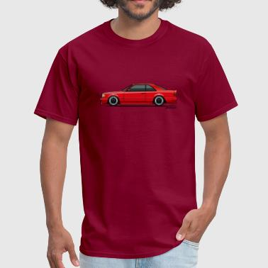 Mercedes W124 300CE AMG Red - Men's T-Shirt