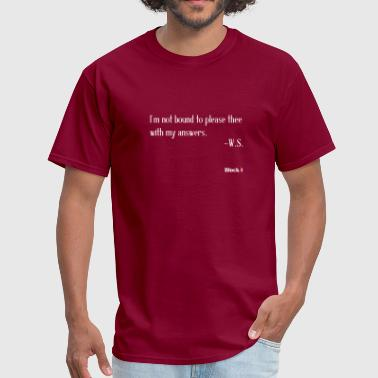 I'm not bound (white) - Men's T-Shirt