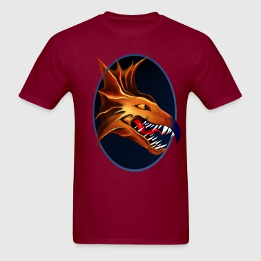 Dragon of the ages Framed - Men's T-Shirt