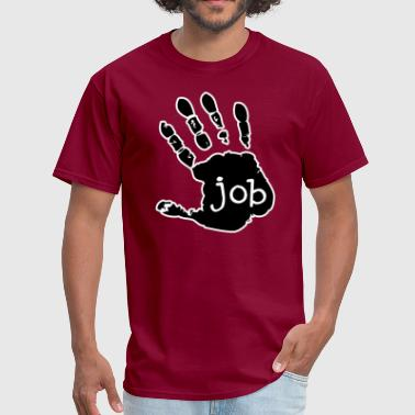 Hand Job - Design - Men's T-Shirt