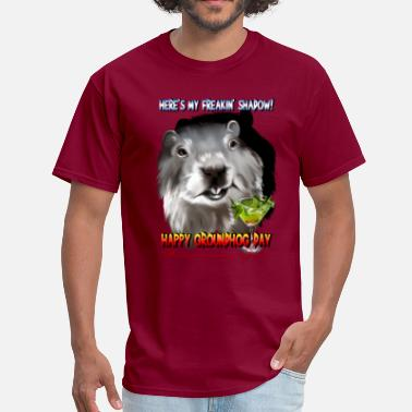 Phil Dunphy Punxsutawney Phil's Shadow - Men's T-Shirt