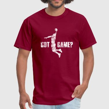 Basketball Slogan Got Game? Player Used Look Retro - Men's T-Shirt