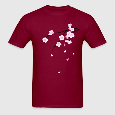 Cherry blossoms (Sakura) - Men's T-Shirt
