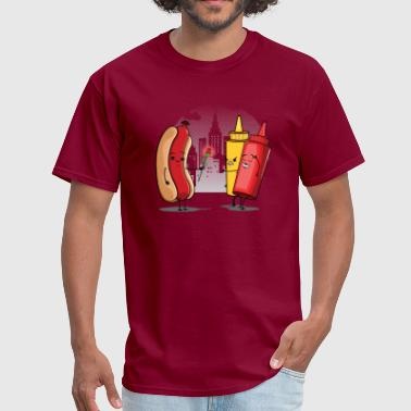 Hot Dog Love Ketchup - Men's T-Shirt