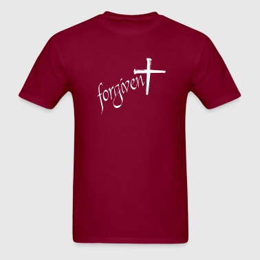 Forgiven - Cross of Nails - Men's T-Shirt