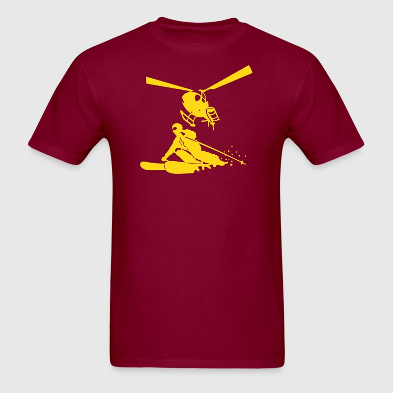 heliskiing - Men's T-Shirt