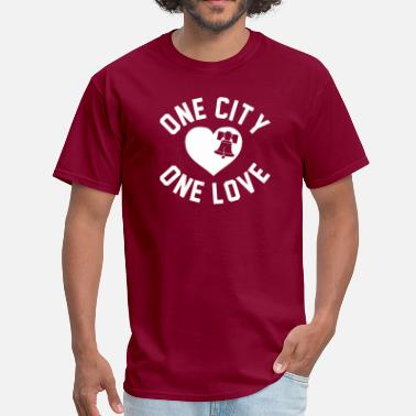 City Of Brotherly Love One City One Love - Men's T-Shirt