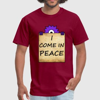 i come in peace - Men's T-Shirt