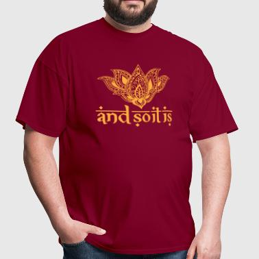 And So It Is Henna Tee - Men's T-Shirt