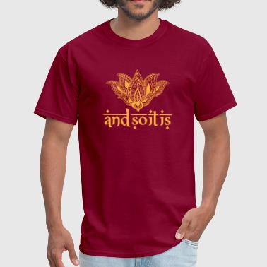 Ty Andrews And So It Is Henna Tee - Men's T-Shirt