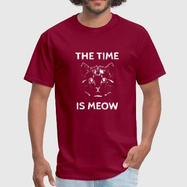 The Time Is Meow The Time is Meow - Men's T-Shirt
