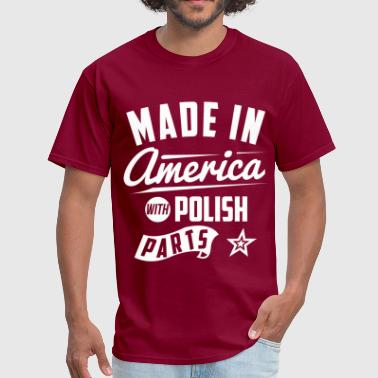 American Polish - Men's T-Shirt