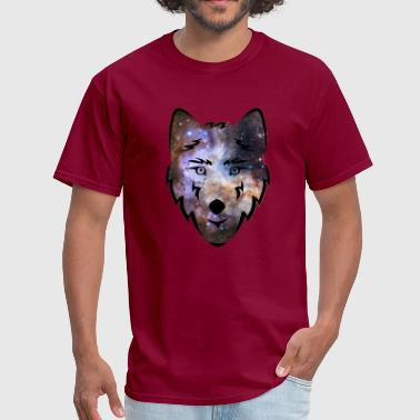 Cosmic Space Wolf - Men's T-Shirt