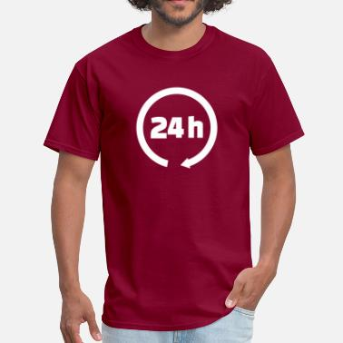By The Hours 24 hours - Men's T-Shirt