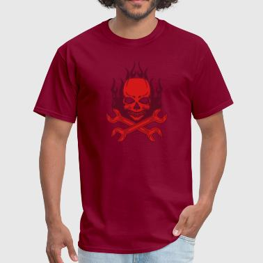 Tuning Skull - Men's T-Shirt