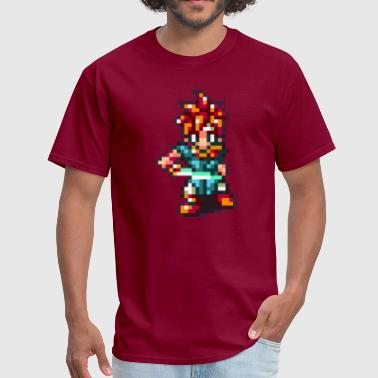 Chrono Trigger - Crono battle pose - Men's T-Shirt