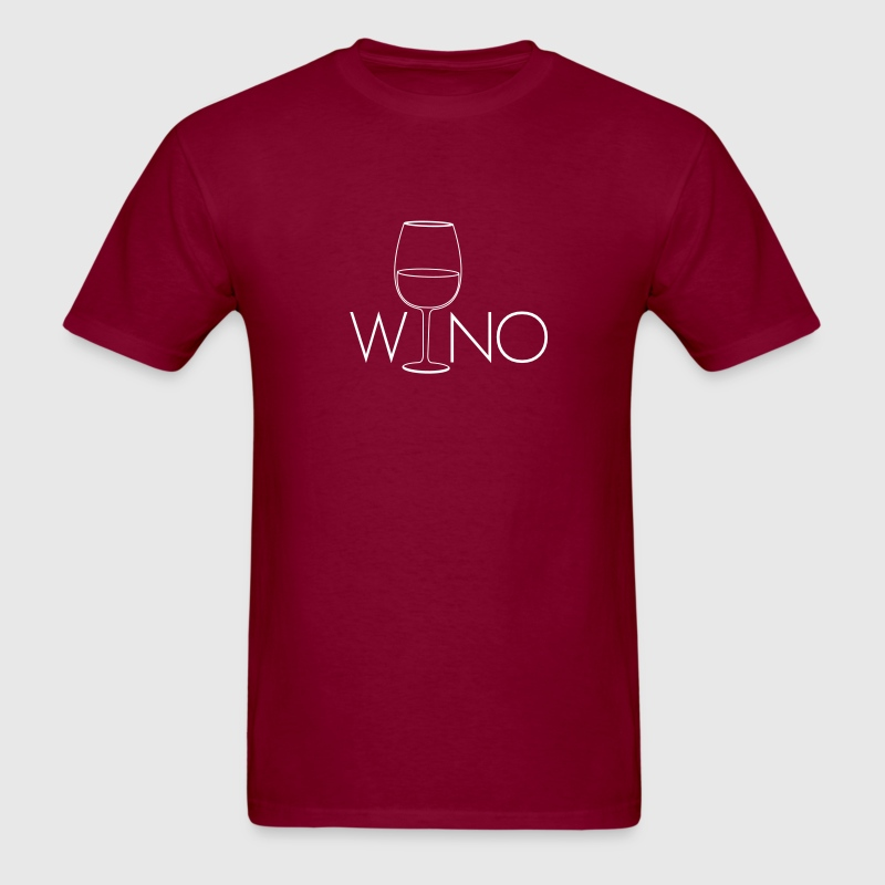 Wino. for Wine Lovers - Men's T-Shirt