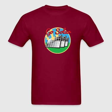 Go Solar. Solan Panels - Men's T-Shirt