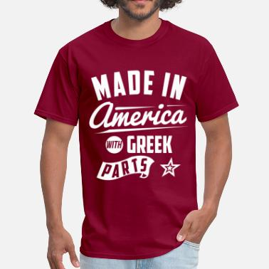 Greek Baby American Greek - Men's T-Shirt