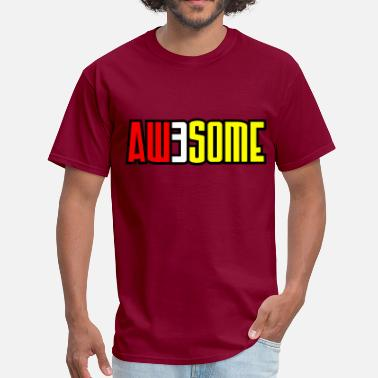 3some aw3some - Men's T-Shirt