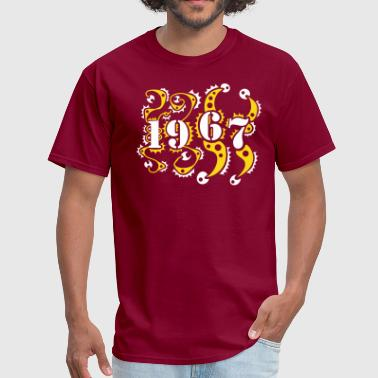1967 Birthday Year Shirt - Men's T-Shirt