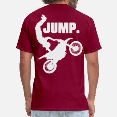 Jump Wisdom motocross jump - Men's T-Shirt